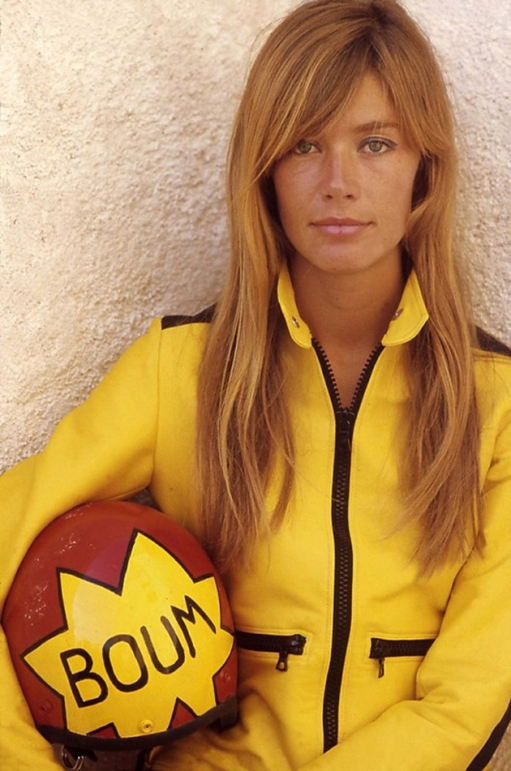 Photos by Jean-Marie Perier during the 1960's, making Françoise Hardy a fashion icon.